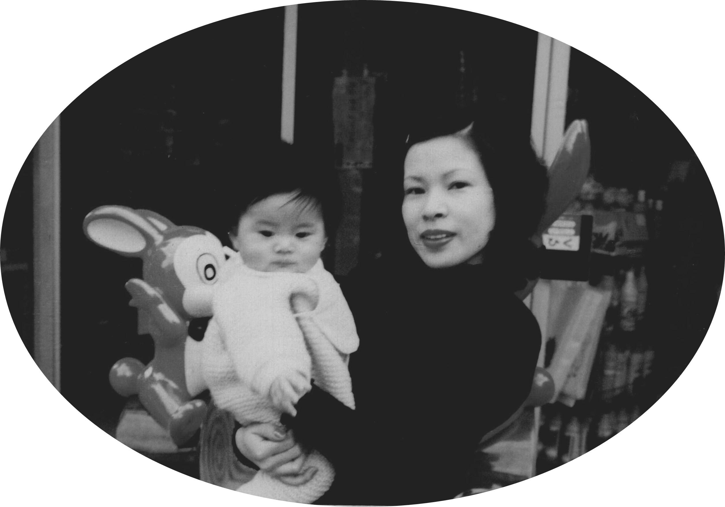 若かりし頃の幸子先生